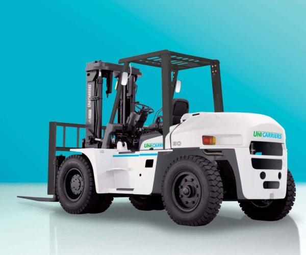 xe nâng Unicarriers tải trọng từ 6 - 10 tấn
