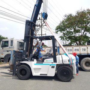 xe nâng dầu 6 tấn Unicarriers